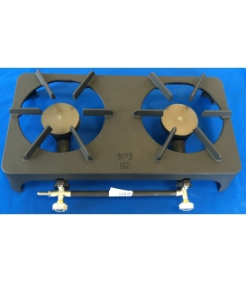 Cast Iron Double Burner Gas Stove