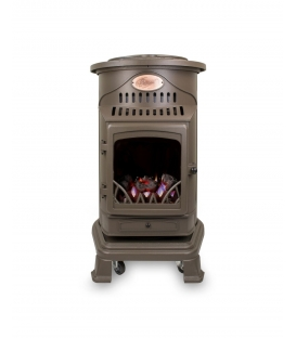 Provence Honey Glow Brown Portable Heater