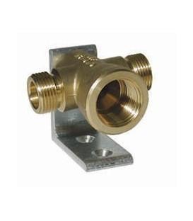 Double Propane wall block manifold
