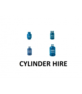Cylinder Hire Charge for Butane 4.5kg, 7kg, 12kg, 15kg,