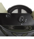 Provence Matte Black Portable Heater