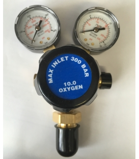 Oxygen Regulator single stage 2 guage