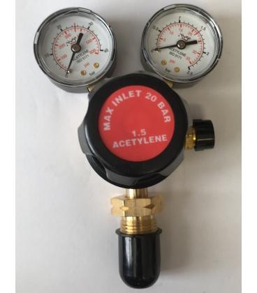 Acetylene Regulator single stage 2 guage