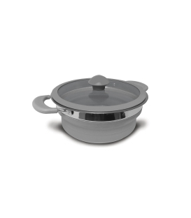 Folding Saucepan Grey 2 Litre