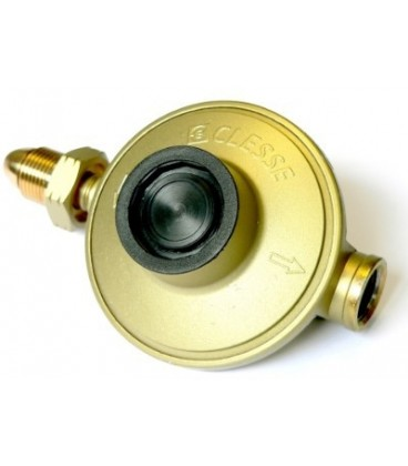 Clesse Propane 37mbar 5kg Gold regulator