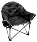 Crusader Black Comfort Chair