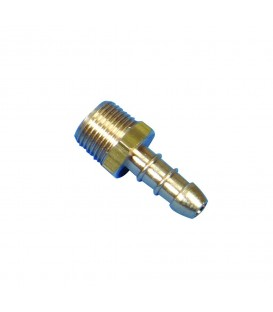 "1/2"" BSP Male  x  8mm LP Hose Nozzle"