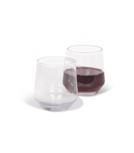 Kampa Soho Stemless  Glass 350ml Pack of 2