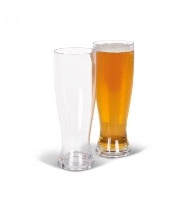 Kampa Beer Glass 660ml Pack of 2