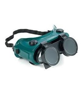 Flip Up Welding Goggles 2 Lens