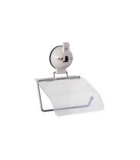 Quest Toilet Roll Holder With Suction Pad