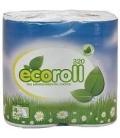Eco Roll Quick Dissolve Toilet Tissue 4 Pk