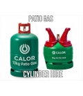 Cylinder Hire Charge for Patio Gas Cylinders