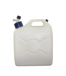 Plastic Jerrycan water carrier with tap 9.5 Ltr
