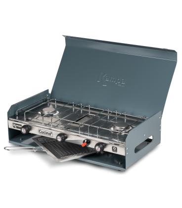 Kampa Cucina Double Gas Hob and Grill