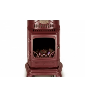 Provence Burgundy Red Portable Heater