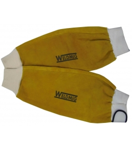 WeldMig Leather Sleeves Kevlar Stitched 18'' Pair