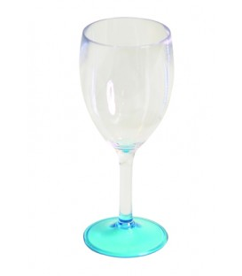 Acrylic Wine Glass  Blue