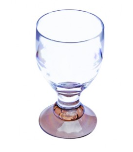 Acrylic Wine Glass Bella Smoked
