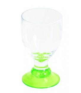 Acrylic Wine Glass Bella Lime