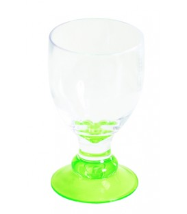 Acrylic Wine Glass Bella Lime