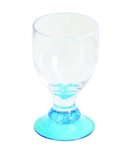 Acrylic Wine Glass Bella Blue