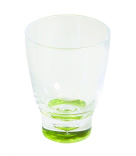 Acrylic Low Tumbler Elegance Lime
