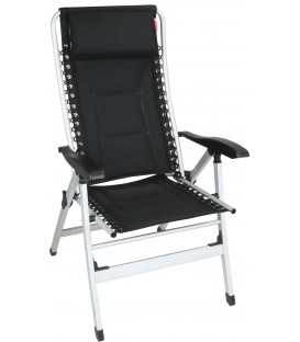 Padded Recliner (Black)